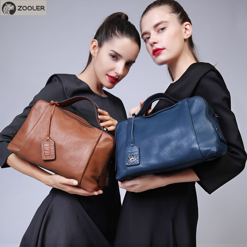 ZOOLER hot Genuine leather bags women luxury brand elegant handbags designer shoulder bag soft Quality tote