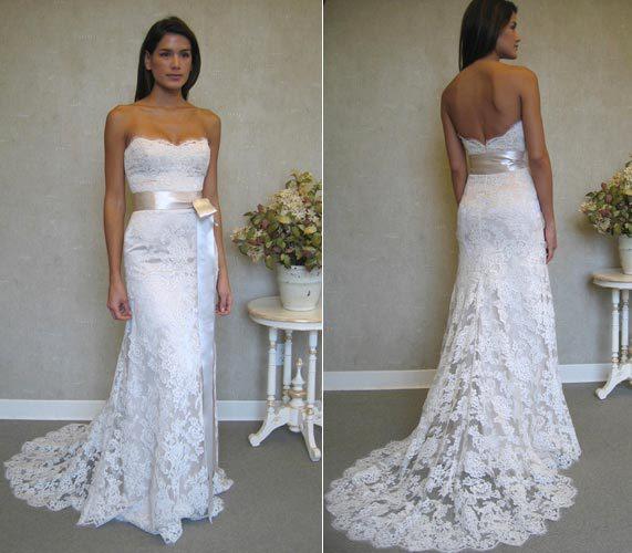 vestidos de novia sirena strapless piso longitud de los marcos de