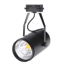 12W Ceiling Spot Wall Lights AC85-265V 1080LM COB Spotlight LED Track Adjustable for Office Shopping Mall Clothing Shop Exhibi spot goes shopping