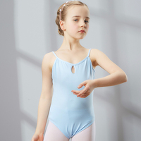 2017 New Ballet Dance Tank Tops Training Performance 5Colors Cotton Disfraces Infantiles Princess Gymnastics Leotard Girl