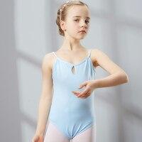 2017 New Ballet Dance Tank Tops Training Performance 5Colors Cotton Disfraces Infantiles Princess Gymnastics Leotard Girl