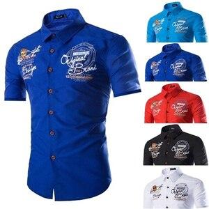 Zogaa British Style Men Shirts