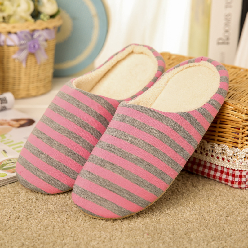 Unisex Japanese Style Women Indoor Home Slippers Plush Slippers Ladies Cotton Spring Autumn Breathable Cotton Indoor Floor Shoe vanled 2017 new fashion spring summer autumn 5 colors home plush slippers women indoor floor flat shoes free shipping