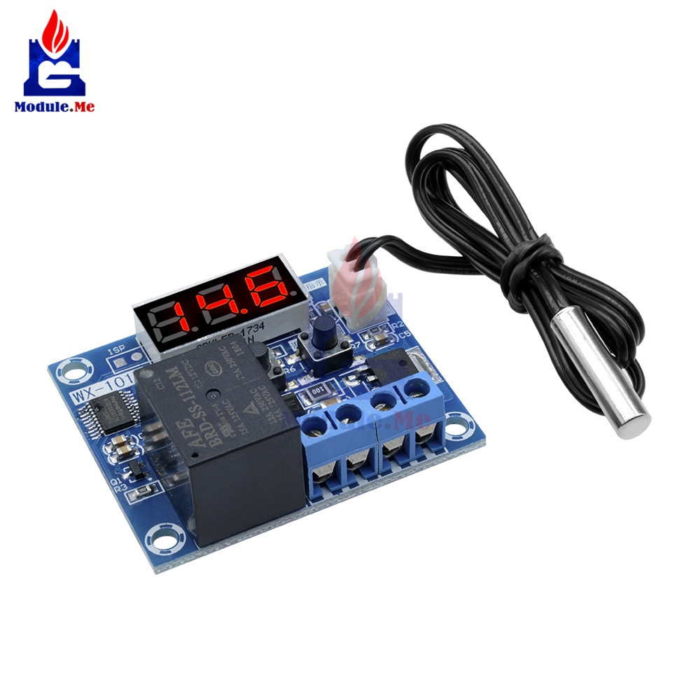 Control Switch 24V 1Channel Thermistor Relay Sensor Temperature Detection Module
