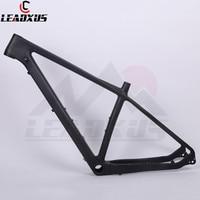 LEADXUS CKC29 MTB Carbon Frame 29er Carbon MTB Frame Mountain Bike Frame Compatible with Straight Suspension Tapered Forks