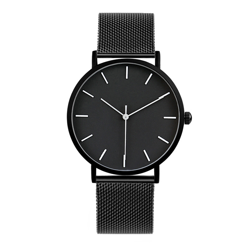 2017 Enmex cool style men wristwatch Brief vogue simple stylish Black and white face stainless steel quartz clock fashion watch ladies gift new style watch enmex creative design starlight in the night sky simple face steel band quartz fashion wristwatch