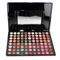 2015 Profesional Maquillaje kit de Sombra de ojos 88 Color Cálido Paleta de Sombra de Ojos Neutral Maquillaje de Sombra de Ojos Maquillaje Cosmético para las mujeres