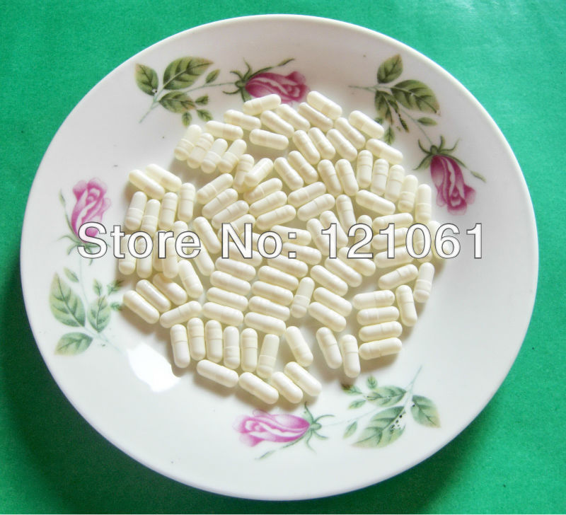4 10 000pcs White White Colored Empty capsule hard gelatin empty capsules size 4 joined or