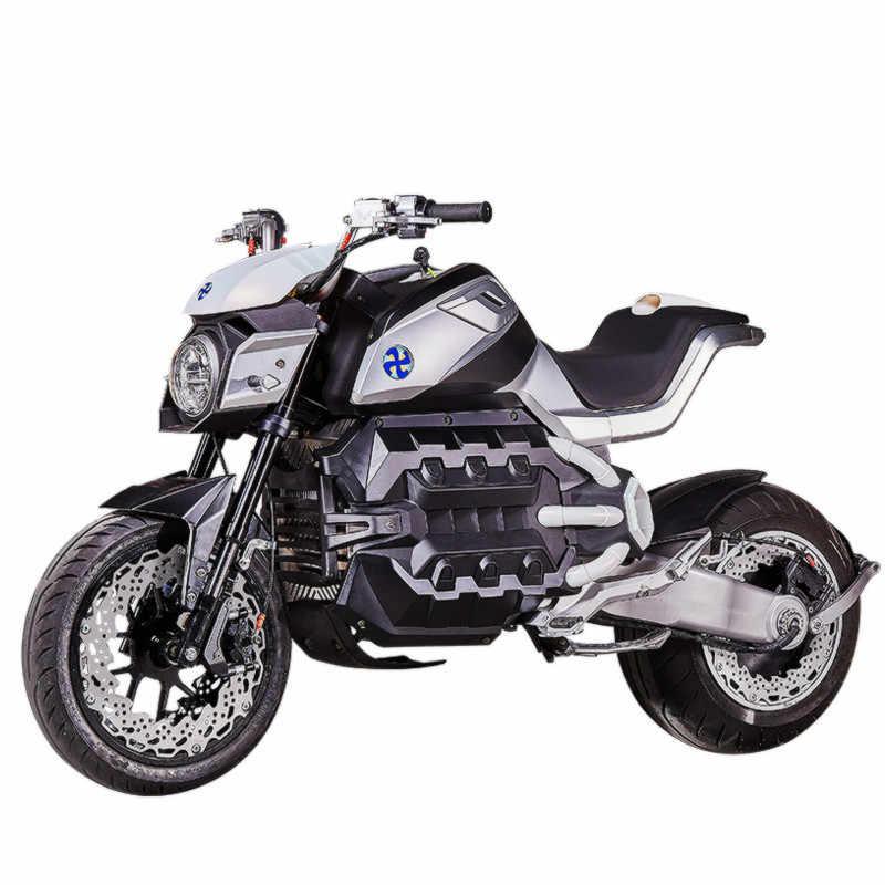Hcgwork Junyue Black Warrior Electric Motorcycle Motorbike
