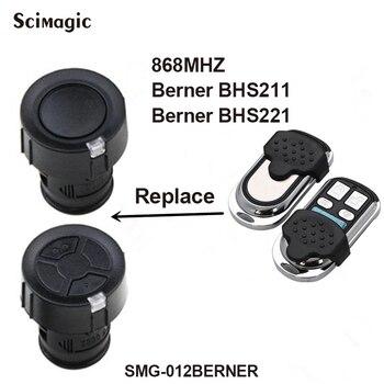 For Berner BHS 211 221 153 110 140 121 130 remote control garage gate door clone Berner remote duplicator 868.3MHz фото