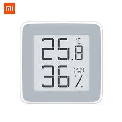 Original Xiaomi Miaomiaoce Home Health Thermometer Temperature Humidity Sensor with LCD Screen Digital Hygrometer Monitor Sensor