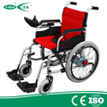 Competetive price and high quality Medical equipment   power Folding Portable electric Wheelchair