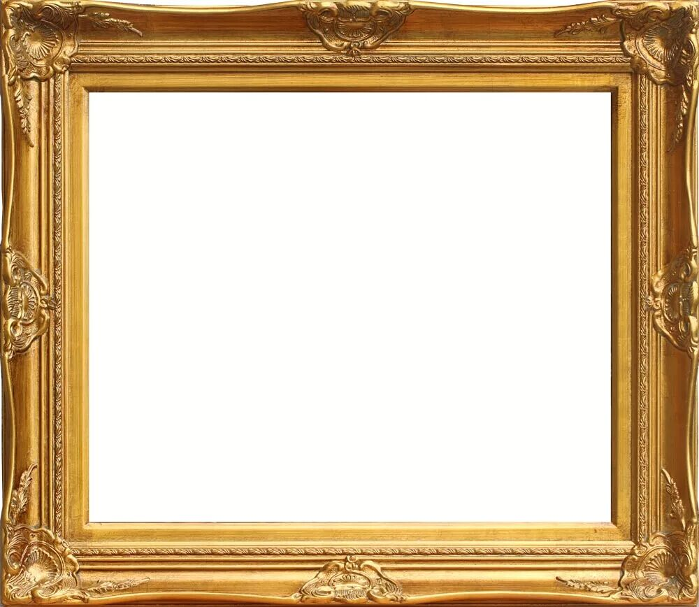 Fashion Wood Photo Frame 16inch Photo Frame Gold Foil