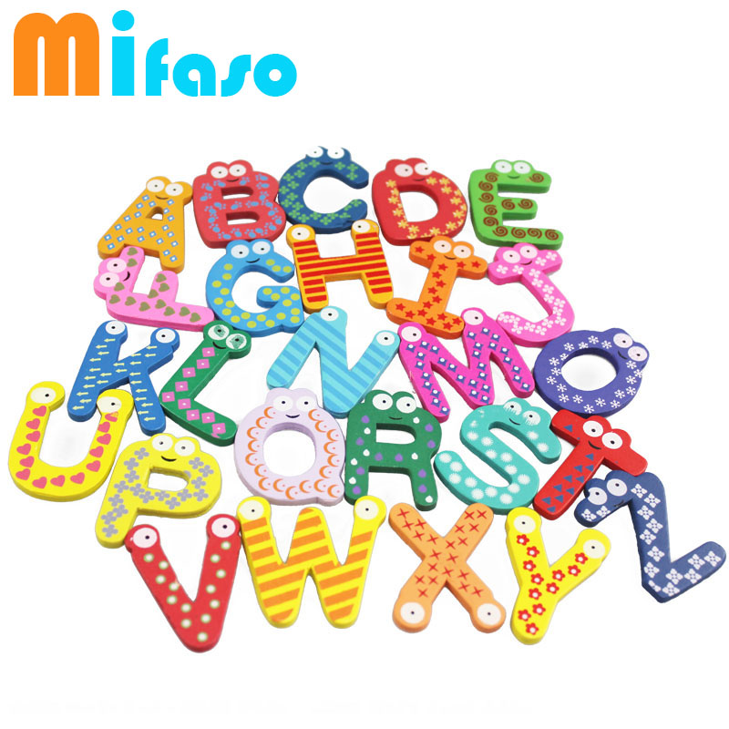 Colorful Lovely Number Baby Kids Children Wooden Alphabet Refrigerator Fridge Magnets Stick Figure Educational Learn Toys 11-242