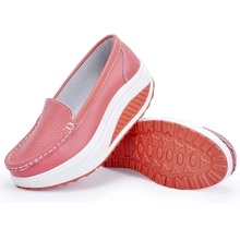 Women Leather Nurse Shoes Loafers