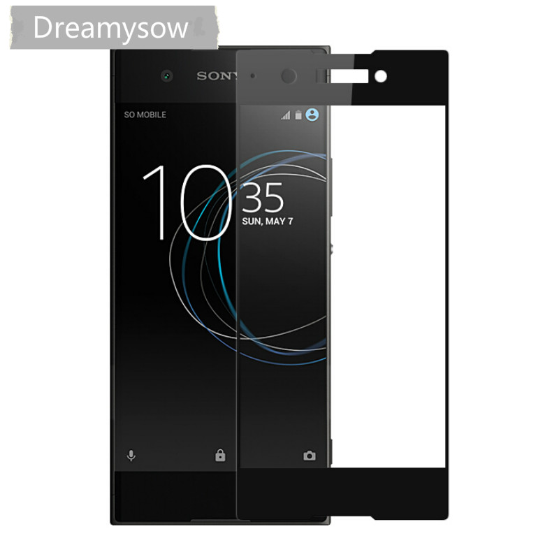 HD 2.5D Full Cover Tempered Glass For Sony Xperia X XZ2 Compact XA2 XA1 Plus Ultra XZ XZS Premium Screen Protector Film