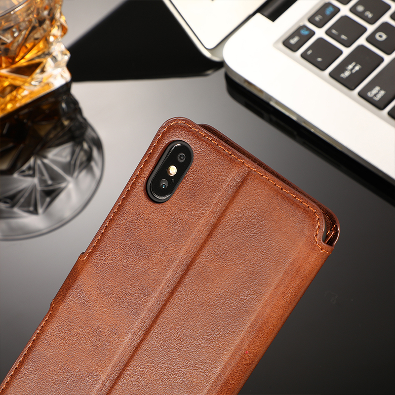 Vintage Leather Flip Wallet Case For iPhone 11 Pro X XS MAX XR 5 5s SE 6 6s 8 7 Plus Magnetic Card Holder Phone Cover Coque Etui