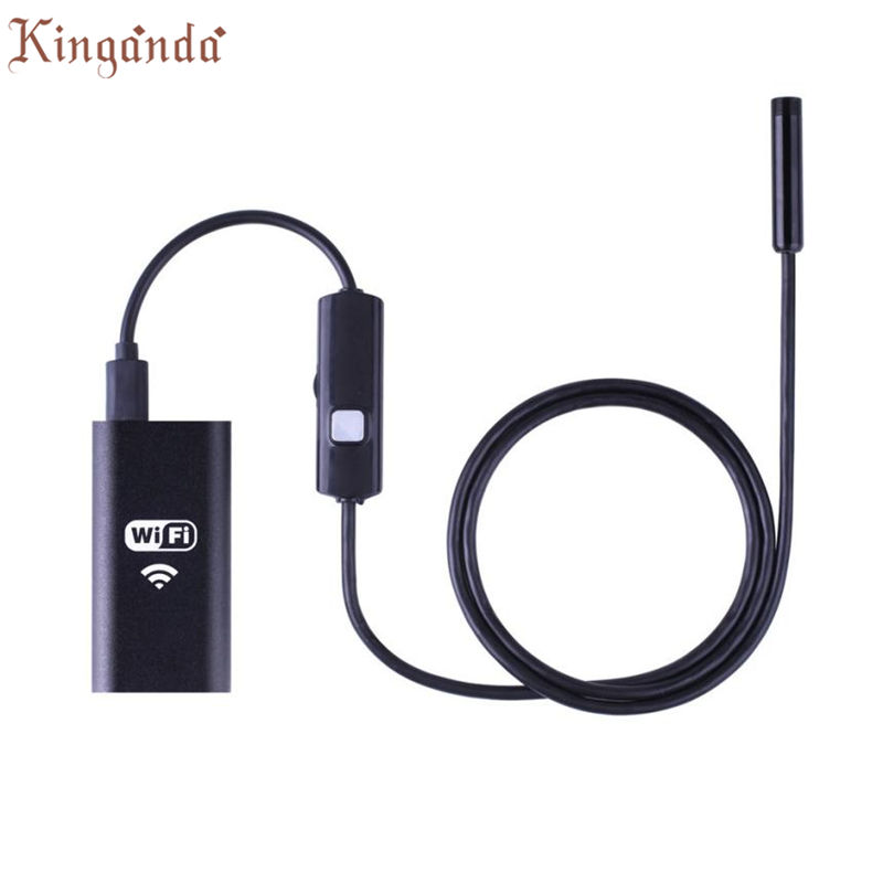 Webcam Wireless HD 720P Waterproof Smart WIFI Camera Inspection Endoscope For iPhone Android Camara Web Drop shipping 17Aug10