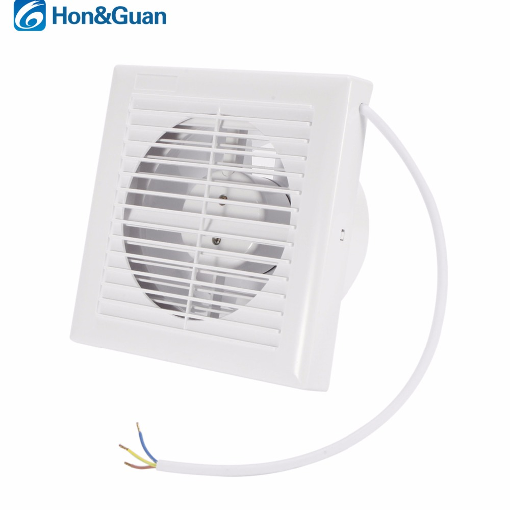 Kitchen Air Vent: 110V 220V 6inch 14W Home Ventilation Exhaust Fan Wall