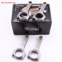 Racing Connecting Rods for Toyota Starlet GT Turbo 4EFTE 1.3 Conrods 800HP 118mm For Toyota Glanza V EP91 4E FTE car accessories