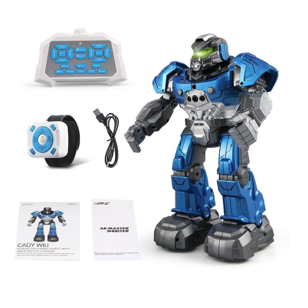 JJR/C R5 CADY WILI Intelligent RC Robot Remote Control Programmable Auto Follow Gesture Sensor Music Dance Action Toys Figure