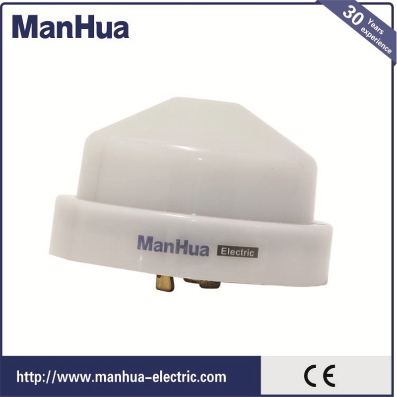ManhuaNew Product 2017 Electronic Outdoor Light Switch MS SC For Street  Sensor And Garden Light Switch Home Smart 220V Plastic