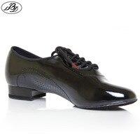 Dancesport Shoe 309 Economic Ballroom Dance Shoes For Men Split Sole Shoe Men Dance Shoe Patent