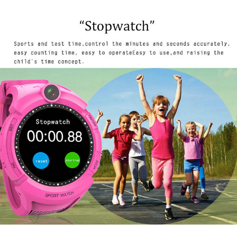 Image 3 - Q360 Kids Smart Watch with Camera GPS WIFI Location Child smartwatch SOS Anti Lost Monitor Tracker baby WristWatch-in Smart Watches from Consumer Electronics
