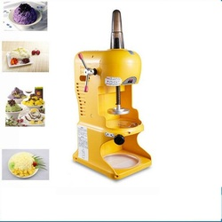 220V Commercial Automatic Electric Ice Crusher Shaver Machine Multifunctional Snow Cone Maker For Shop EU/AU/UK/US Plug