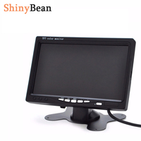 7 Inch HD Car Monitor High Resolution TFT LCD 800 X 480 Rearview Mirror 16 9