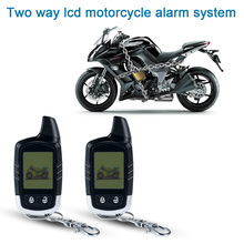 Motorcycle Alarm Security System Motorbike Microwave sensor 2 Way Alarm Theft Protection Long Range Distance LCD Remote Control