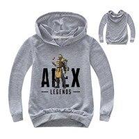 Толстовка с капюшоном для девочек от 2 до 16 лет, весна 2019, Apex Legends, свитер для маленьких мальчиков, детские толстовки, повседневное пальто для ...