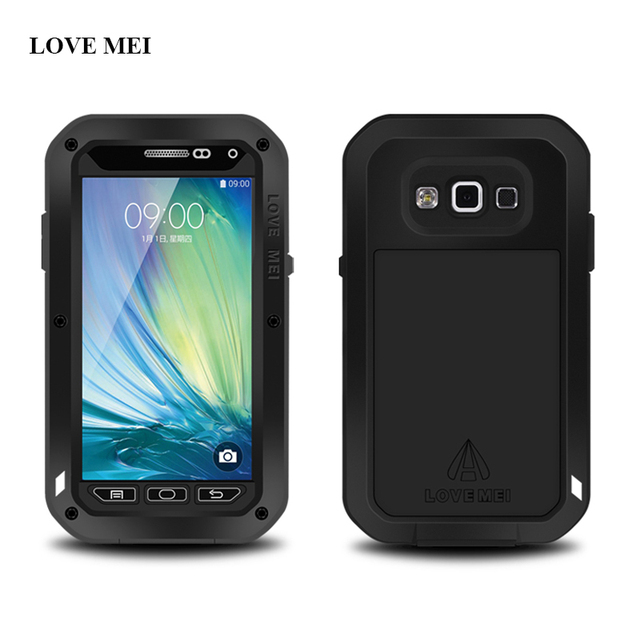 quality design c8320 5229b US $30.58  LOVE MEI Brand Aluminum Metal Cover Case For Samsung Galaxy A5  2015 A500 A500F A5000 Powerful Shockproof Life Waterproof Shell on ...