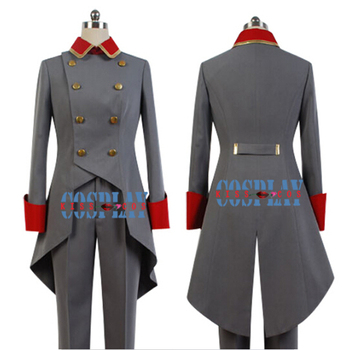 Aldnoah.Zero Spark Riders Mars Knight Cosplay Costume uniform suit set