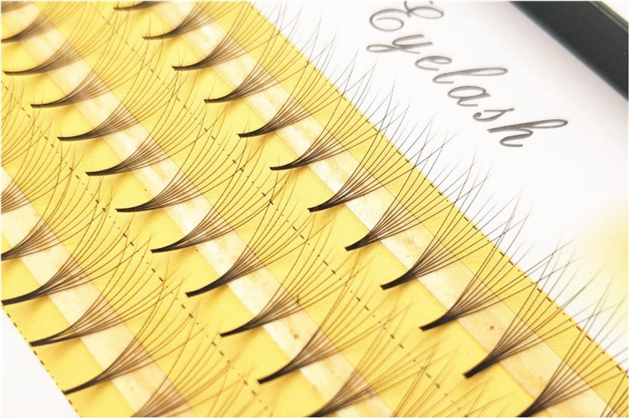 Grafting 7/8/9D Volume Eyelashes Extension Pre Made Fans Individual False Eyelashes Black Natural Professional Eyelash Volume Fans Semi Permanent Individual Eyelash Extensions