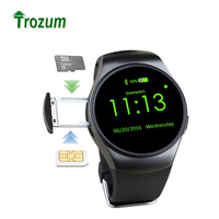 TOP SELL KW18 Bluetooth smart watch full screen Support SIM TF Card Smartwatch Phone Heart Rate for apple gear s2 huawei xiaomi