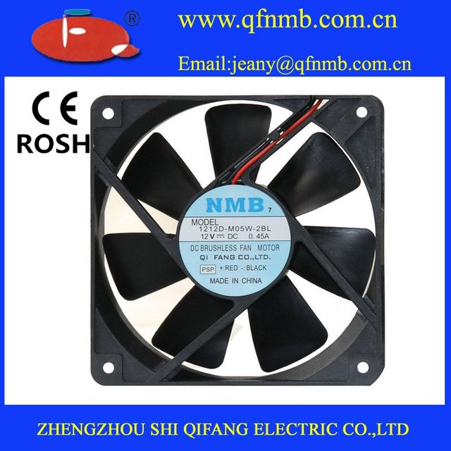 NMB DC COOLING FAN 12025  12V 0.19A  Free shipping!DC 12V 2 Pin Brushless Cool Cooler Fan For VGA Graphics