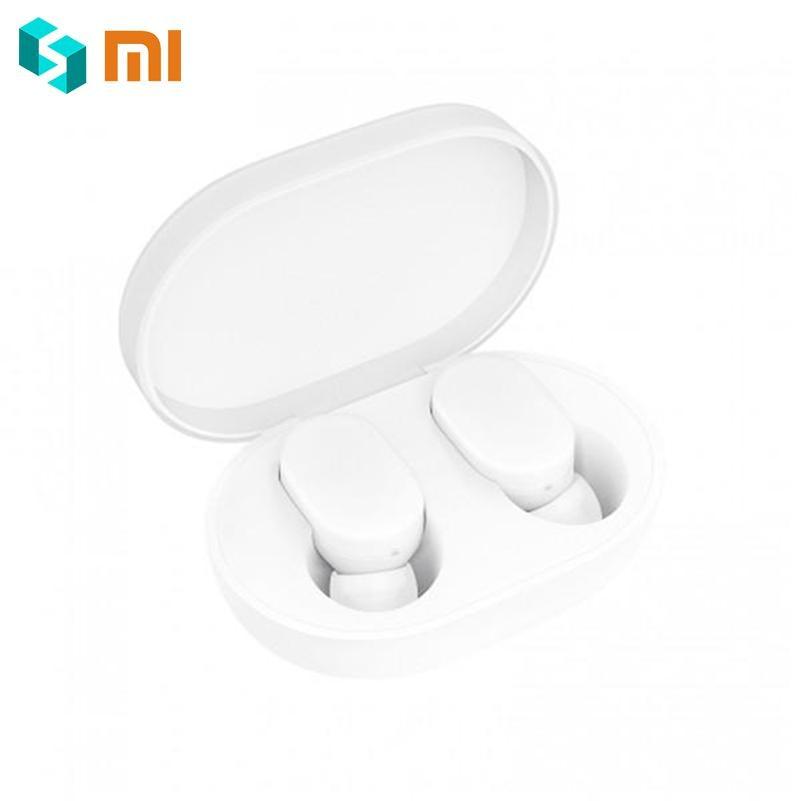 Écouteurs d'origine Xiaomi Airdots TWS Bluetooth 5.0 Version jeunesse contrôle tactile avec boîte de charge Mini écouteurs sans fil 1 paire-in Écouteurs et casques from Electronique    1