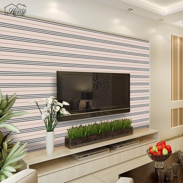 Papel pared rayas verticales comprar ahora beibehang - Papel pared rayas verticales ...