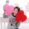 33cm * 36cm Rose Love Led Light Pillow, plush pillow, girl birthday, Valentine's Day gift, free shipping!