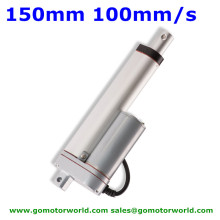 Best industry Linear Actuator manufacturer 12V 24V 150mm Stroke 1600N load 100mm/s speed actuator