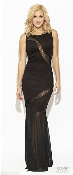 Fashion Vestidos Formal Fishtail Robe De Soiree Sexy Lucency Black Long Party Gown Mermaid Evening Mother Of The Bride Dress
