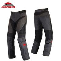 BENKIA мотоциклетные штаны ветрозащитный Для мужчин защитные брюки мотоцикл мото Pantalon Motocicleta мото брюки для лета PS22