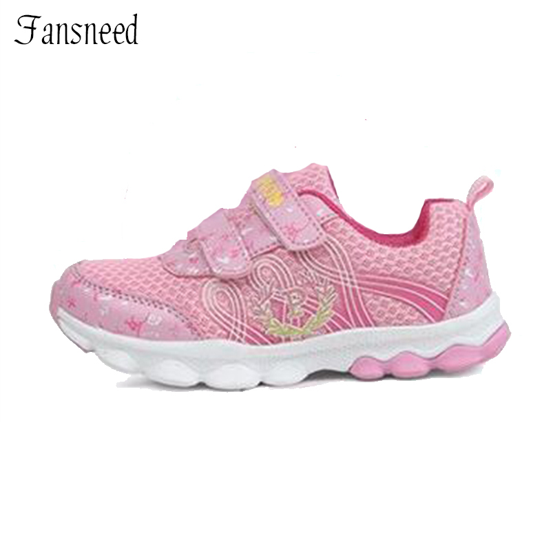 2017 spring fresh small children s travel shoes sports shoes fashion casual girls shoes