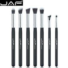 JAF 7 Pcs/set Professional Portable Makeup Brushes of Eye Blending Eyeshadow Brush Smudge Shading JE07SSY-B