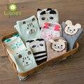 8 par/lote Baby boy Algodón del Padre-niño Niños Calcetines Animales Muy linda Familia equipada Madre y Hija Niña Calcetines para 1-5 años