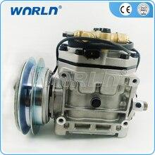 Auto A/C compressor for Mitsubishi Lorry Mixer Truck FK337D553073