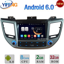 8″ 2GB RAM 32GB ROM Android 6.0 Octa Core DAB 3G/4G Car DVD Multimedia Player Radio Stereo GPS For Hyundai Tucson IX35 2015 2016