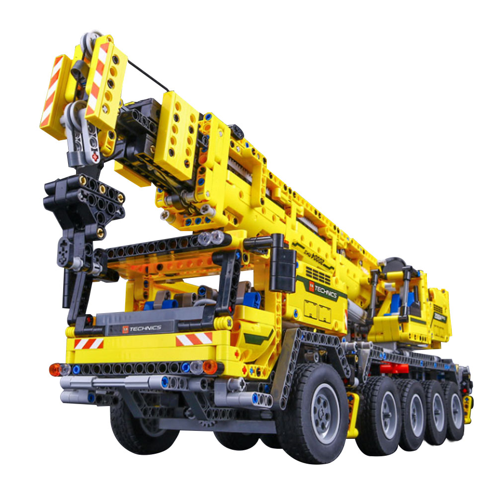 Lepin 20004 2606Pcs Technic Motor Power Mobile Crane Mk II Model Building Kits Blocks Bricks Birthday  Walkie Talkie