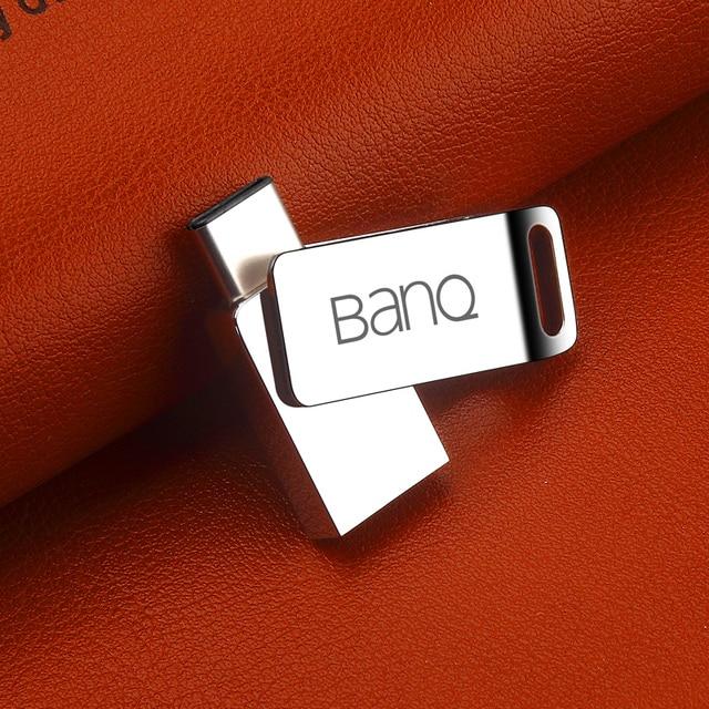 BanQ C60 Типа С OTG USB 3.0 Flash Drive 64 ГБ Pen Drive Смартфон Памяти MINI Usb Stick бесплатная доставка